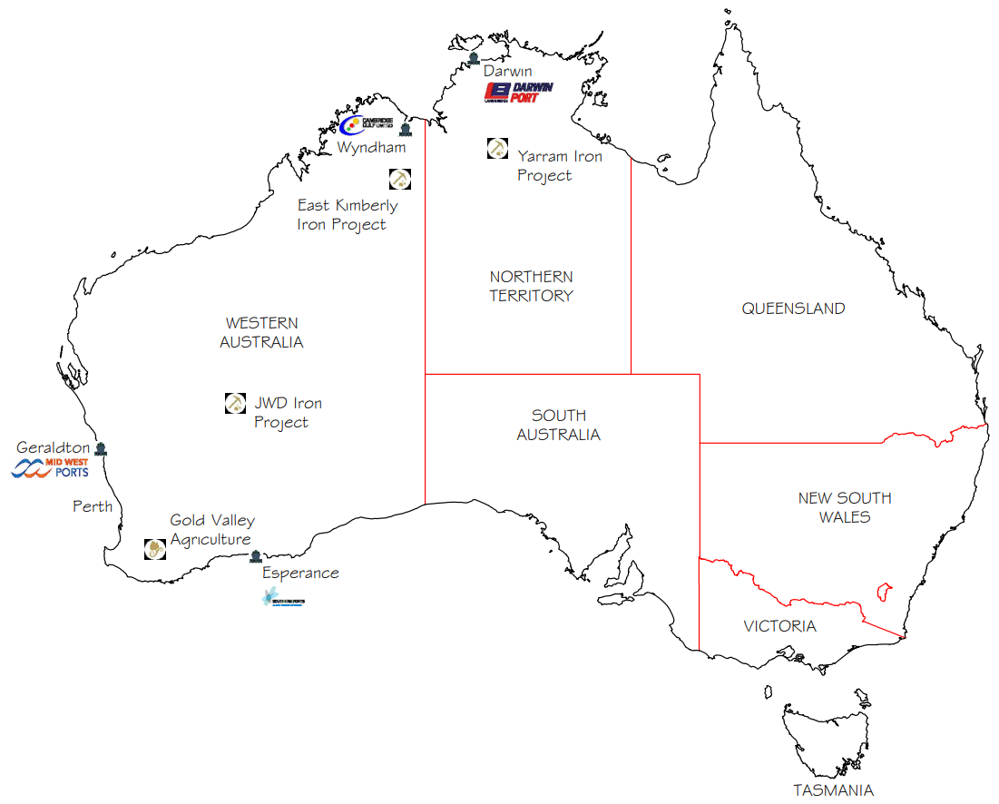 aust gv map